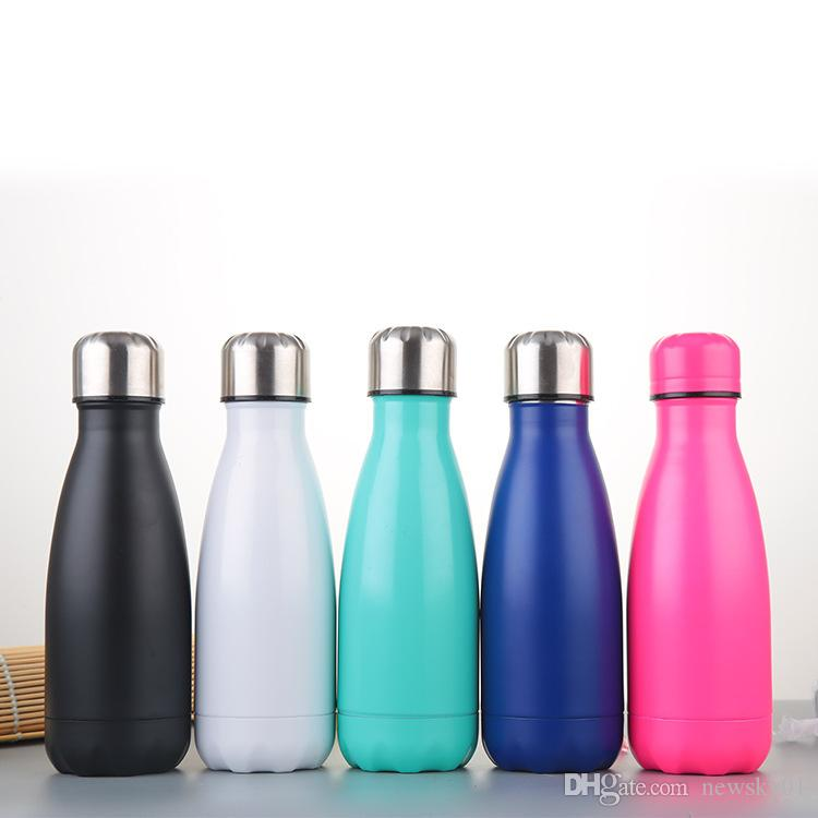 Water Bottle Online Shopping: 9 Oz Double Walled Vacuum Insulated Water Bottle Cup Cola