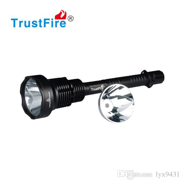 Linternas LED Flashlight 18650 Rechargeable Battery Cylindrical LED Lights Tactical Military Flash Light Waterproof Aluminum Torch LED Lamp