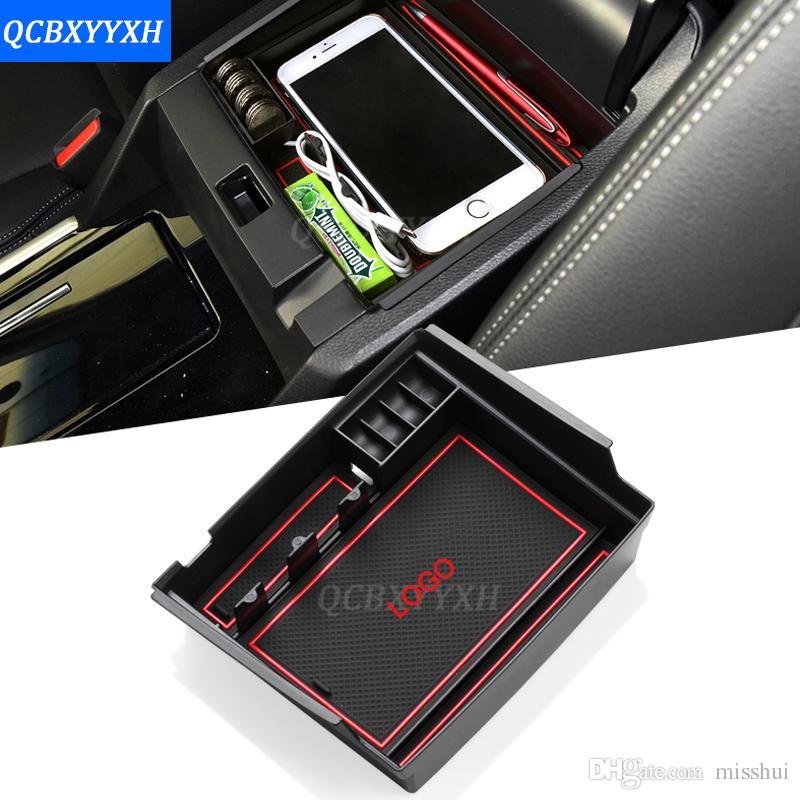 Для Honda Accord 2014-2017 LHD Car Center Country Console Подлокотник Ящик для хранения Крышки интерьера Украшения Авто Аксессуары
