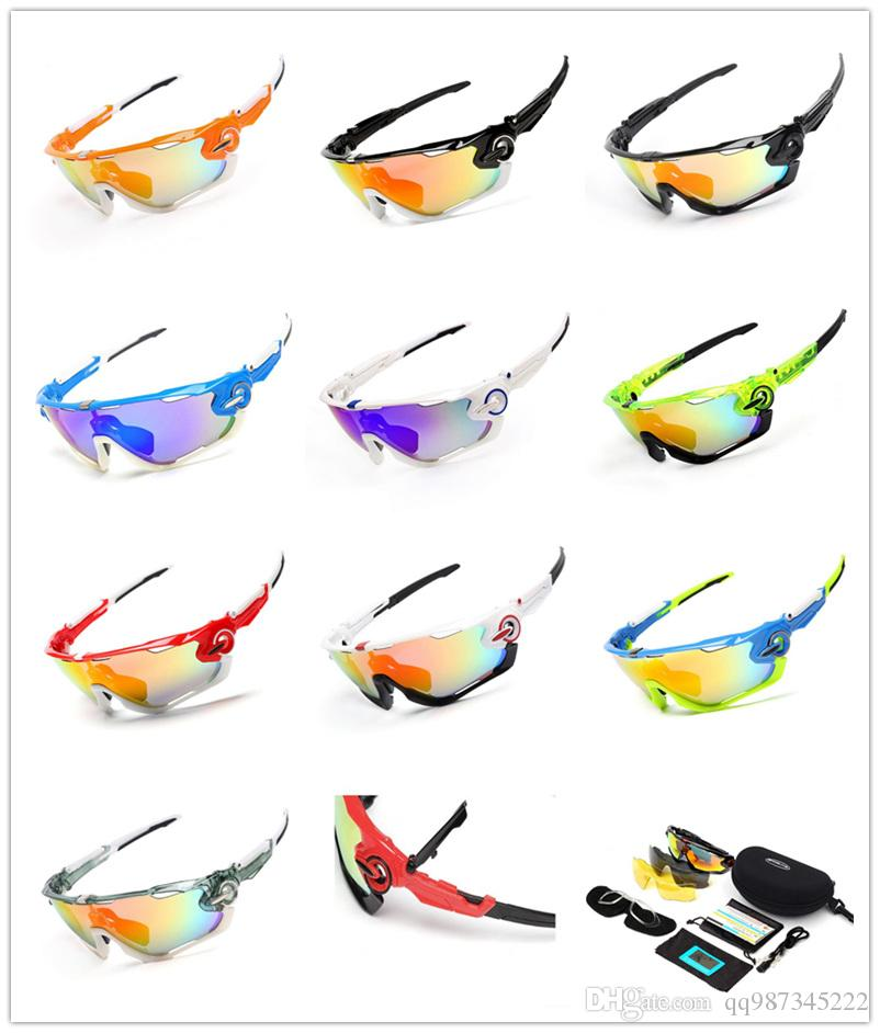 01de4cad03d 2019 Fashion 3 Lens Cycling Bike Glasses Outdoor Eyewear Customized Bicycle  Top Quality Sports Glasses Mountain Glasses Sunglasses Goggle Sports From  ...