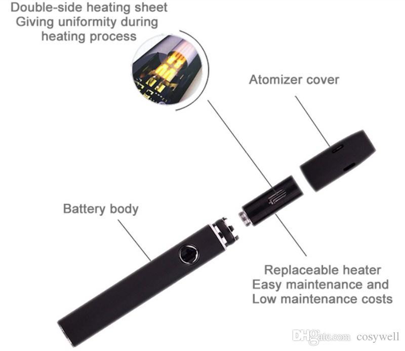 Authentique Kamry Kit de stylo vape ecig2.0 Plus Vapeur à chaleur à brûler HNB ecigarettes sans fumée Mini tige chauffante Vaporisateur Kecig 2.0 Plus