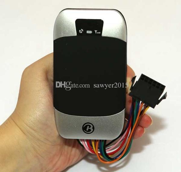 303G GPS Izci 303F Araç Araba Quad band Realtim GPS / GSM / GPRS SMS Uzaktan Kumanda Yakıt Sensörü Gerçek zamanlı Telefon Online Izleme