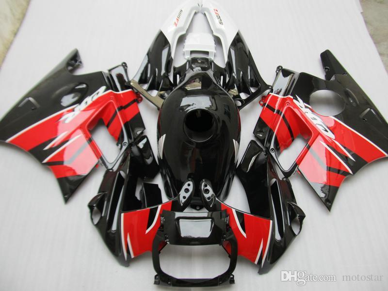 Full ABS plastic body parts fairing kit for Honda CBR60O F2 91 92 93 94 red black fairings CBR600 F2 1991-1994 OY41