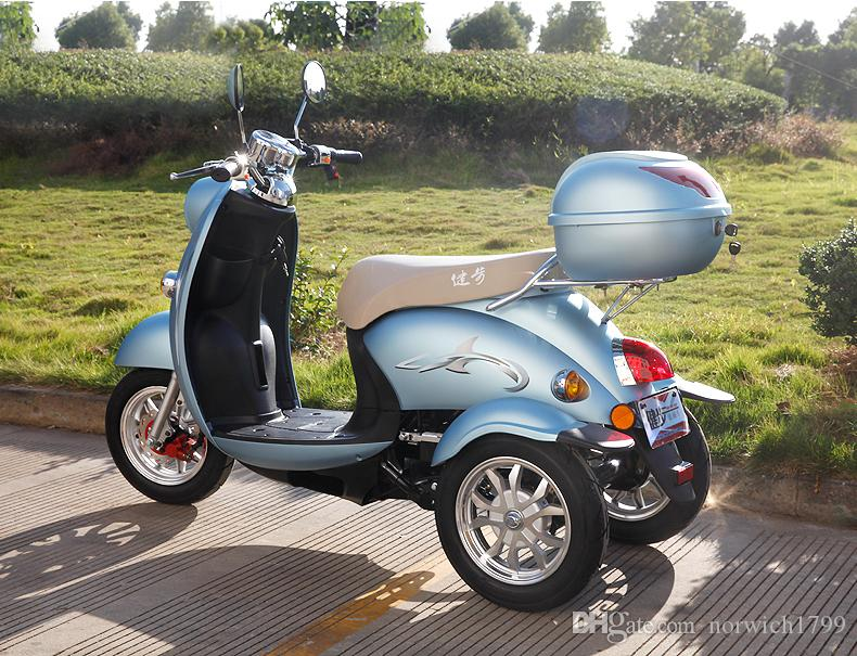 2018 2016 New Design Factory Wholesale 48v 500w Three Wheel Electric Scooter With Powerful Motor Old Man From Norwich1799 170955