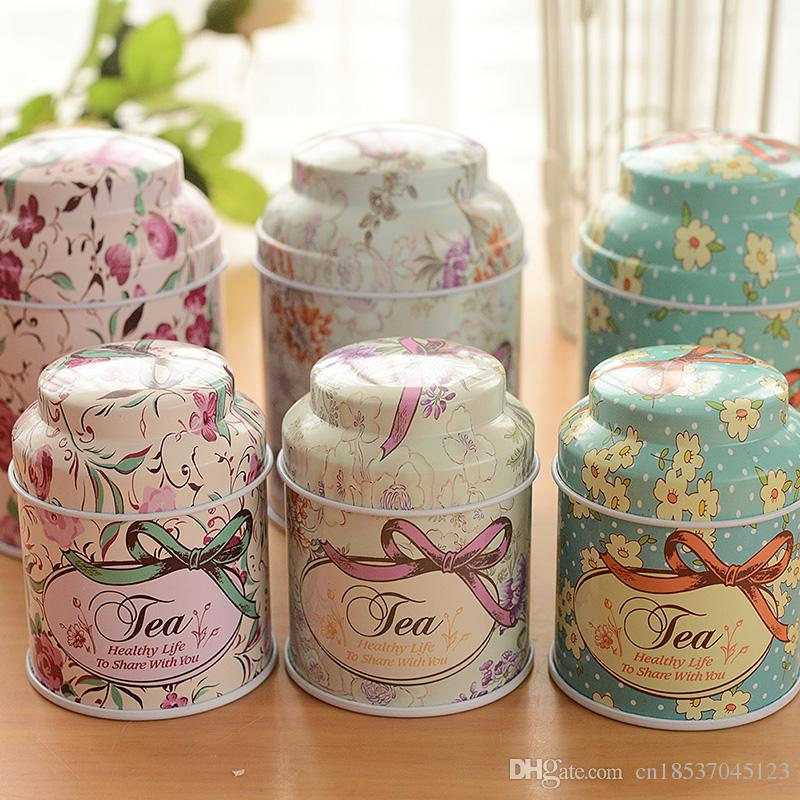 2018 Tea Box Wholesale Butterfly Knot And Line Drawing Style ...