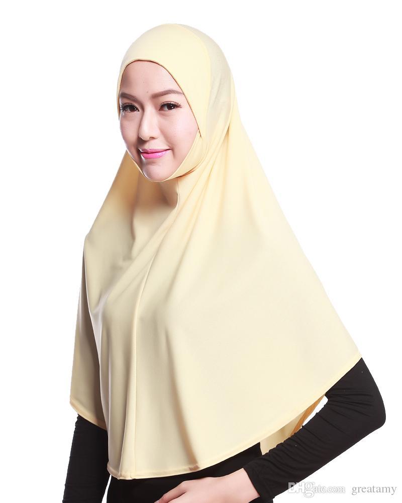 Whosale muçulmano wares Cristal material de pano de linho menina senhora mulheres bonnet Bandanas longo véu