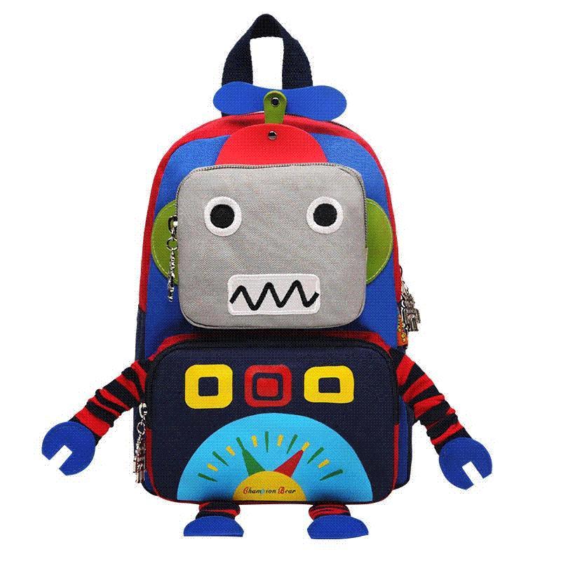 New Cute Girl Schoolbag Cartoon Robot Children School Bags For Boys Baby  School Backpacks Child Kids Satchel Mochila Escolar Laptop Rucksack Cool  Bags From ... f10b8c6256bdd