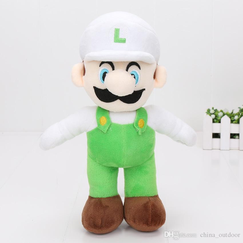 10 '' neue hohe Qualität / Super Mario Bros stehen MARIO LUIGI Plüschtiere Stofftier Puppe