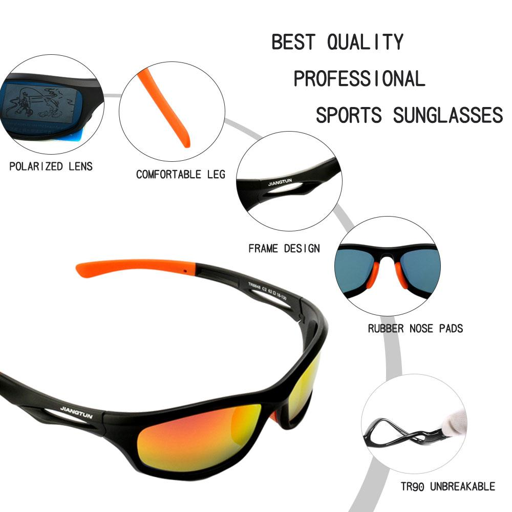 a88d6828e05e Flexible TR90 Sport Sunglasses Men Polarized Brand Designer UV400  Protection Sun Glasses Outdoor Cool Goggles Oculos Tifosi Sunglasses Cheap  Eyeglasses ...