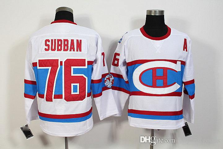 Best #76 Pk Subban White Jersey 2016 Hockey Montreal Canadiens Winter  Classic Jerseys #79 Andrei Markov #11 Brendan Gallagher Jersey Under $30.9  | Dhgate.