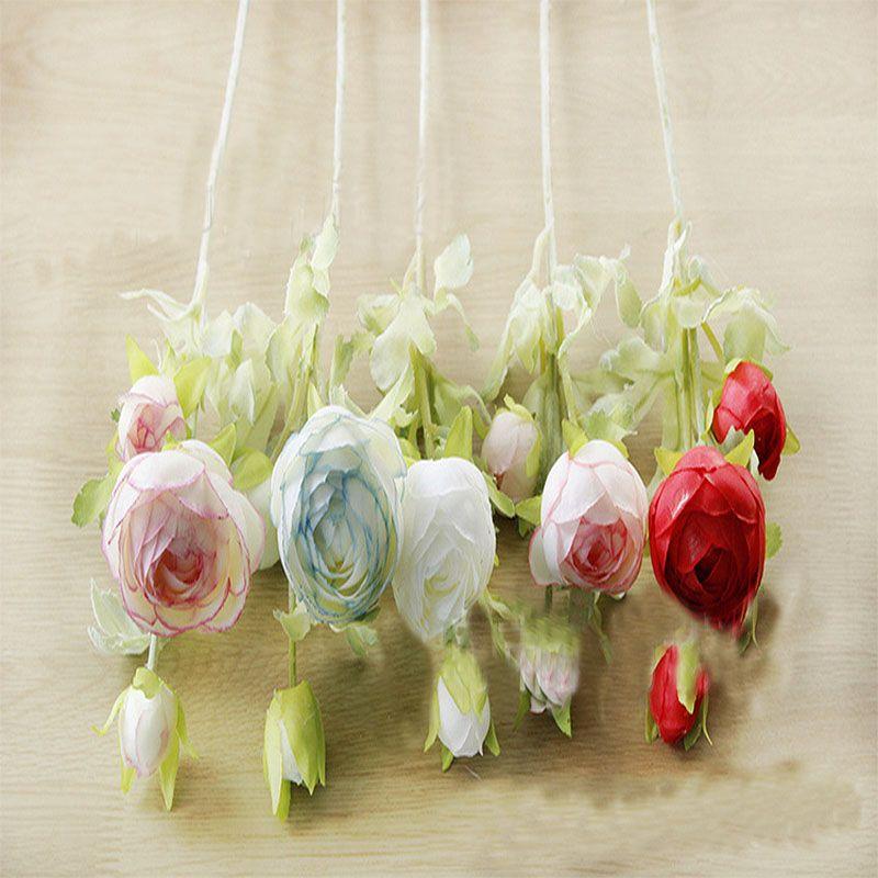 New artificial silk decoration fake flower new simulation flower wedding decoration home meeting hotel decoration silk flower