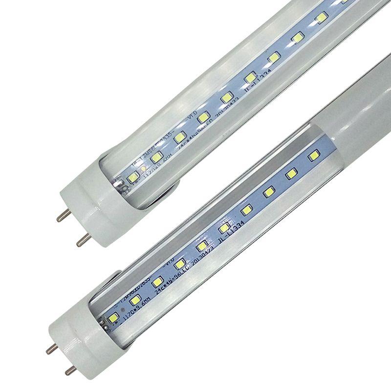 LED T8 TÜP 0.6 M 2ft 12 W 1100LM SMD 2835 Işık Lambaları 2 Feet 600mm 85-265 V LED Aydınlatma Floresan