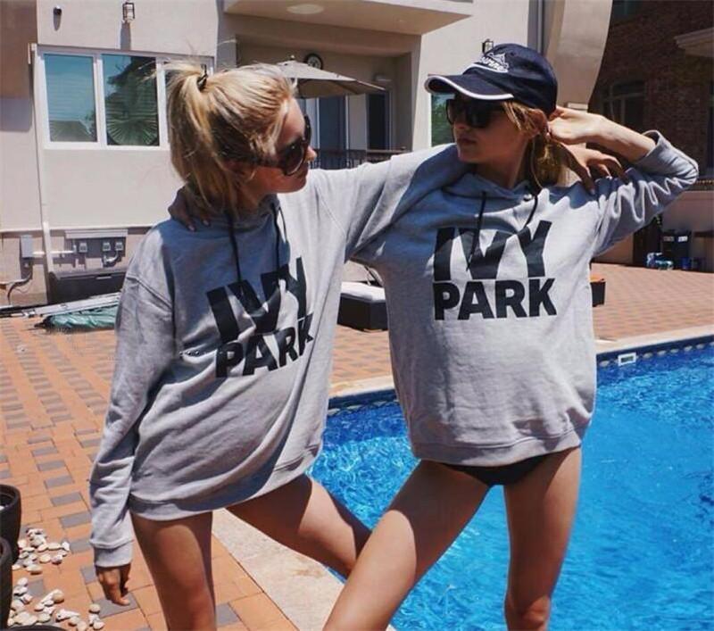 2017 hot ivy park hoodie sweatshirts autumn chic hoodies. Black Bedroom Furniture Sets. Home Design Ideas