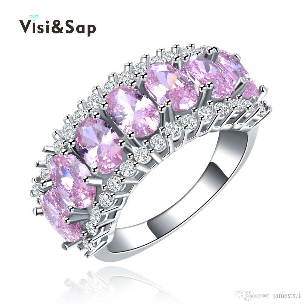 of stone collection and mother inlay color ring with nocturnum rose rings pearl gold product diamond amethyst pink