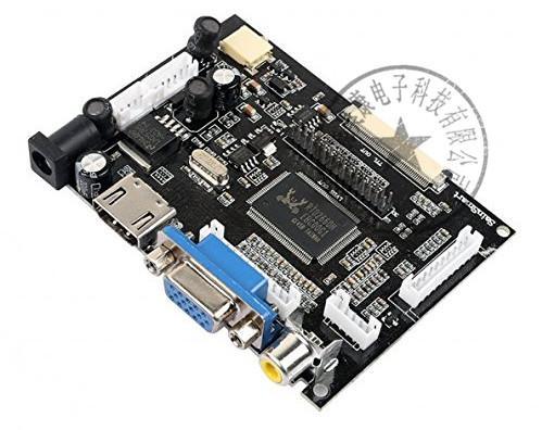 Scheda driver LCD digitale 1024 * 600 da 9 pollici con touch screen HDMI / VGA Raspberry Pi