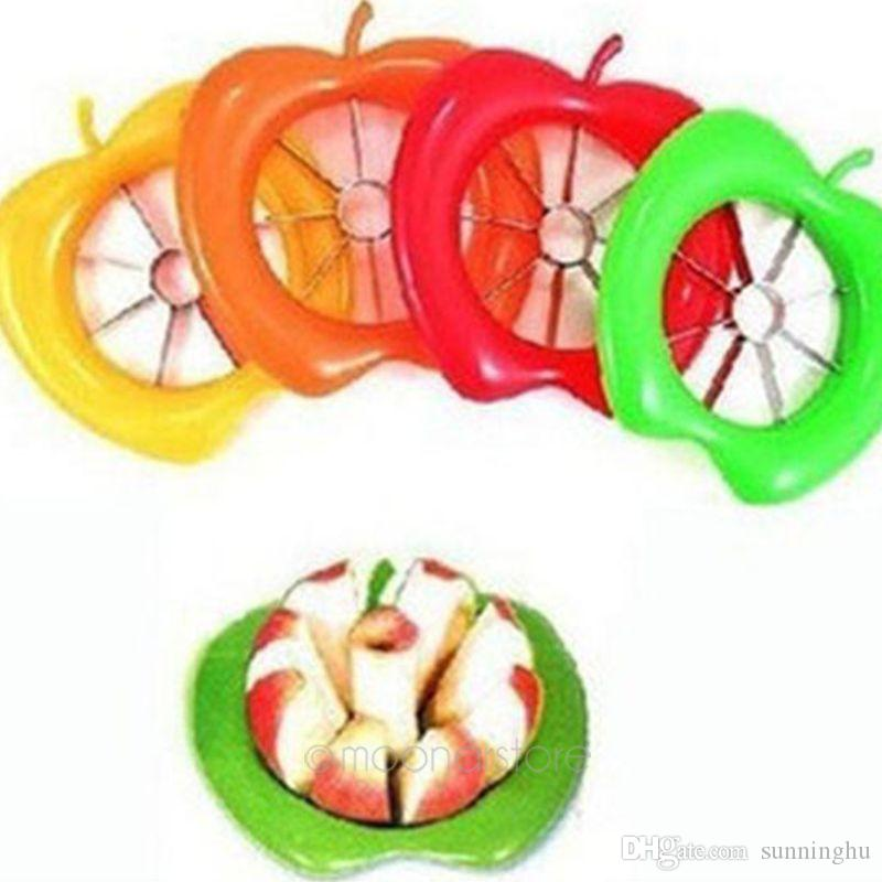 Hot Sale Apple Cutter Fruit Seeder Remover Perfect Corer Slicer Easy Cutter Cut Fruit Knife Cutter for Apple Pear