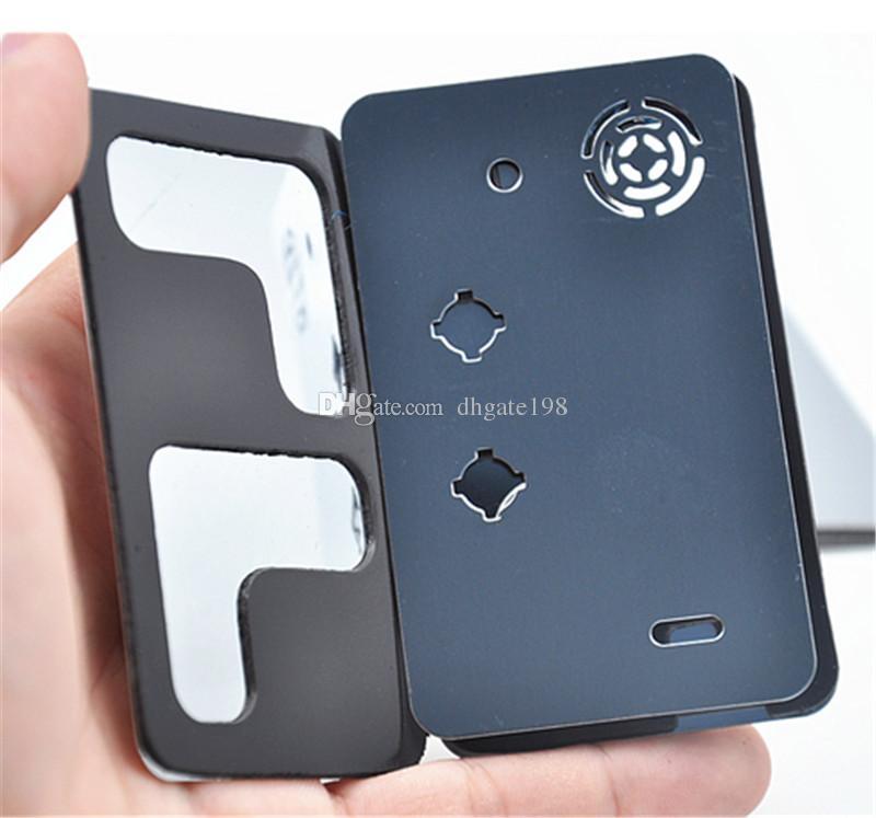 carta di credito fumo tubo di metallo click n braccialetto di vape tubo di fumo tabacco sneak un toke grinder Smoking Pipe