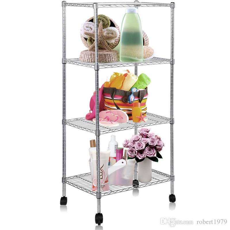 2020 Movable Living Room Wire Storage Shelf From ...