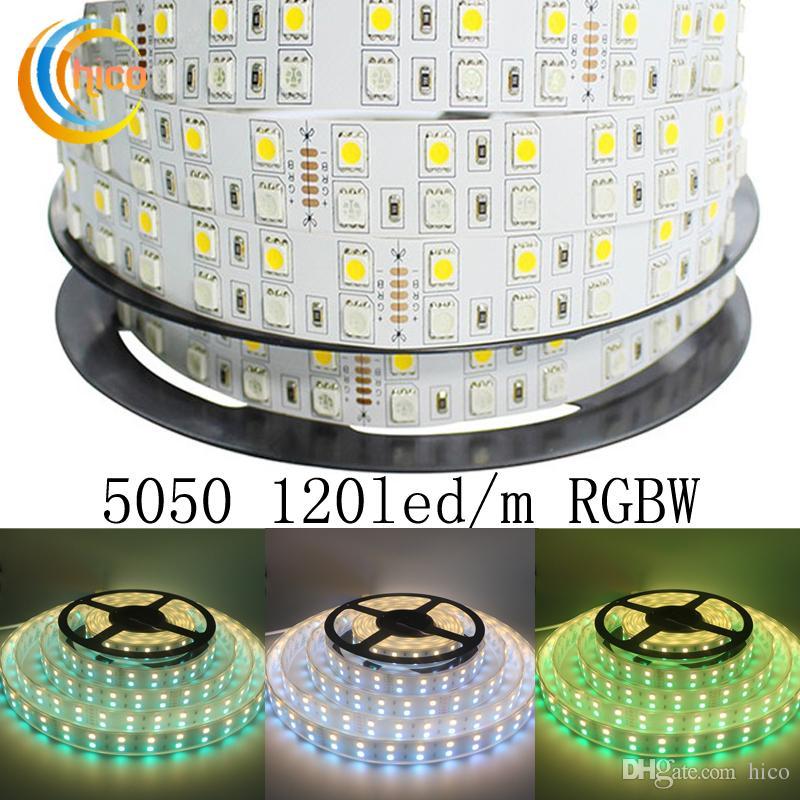 1m 2m 3m 5m Smd2835 Not Waterproo Pir Motion Sensor Bed: Project Lights Led Strip 5050 120 LEDs/M RGBWRGB+White