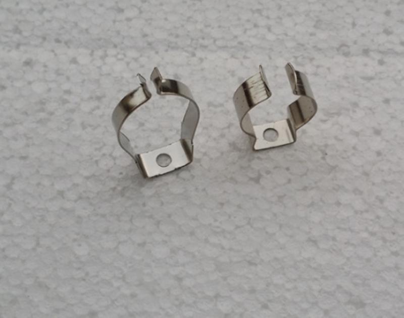 T5 / T8 / T4 lamba tüpü kelepçe halkası boru kelepçesi destek klipsi tutucu klipsi bahar toka metal klip floresan kart, DHL Ücretsiz Nakliye
