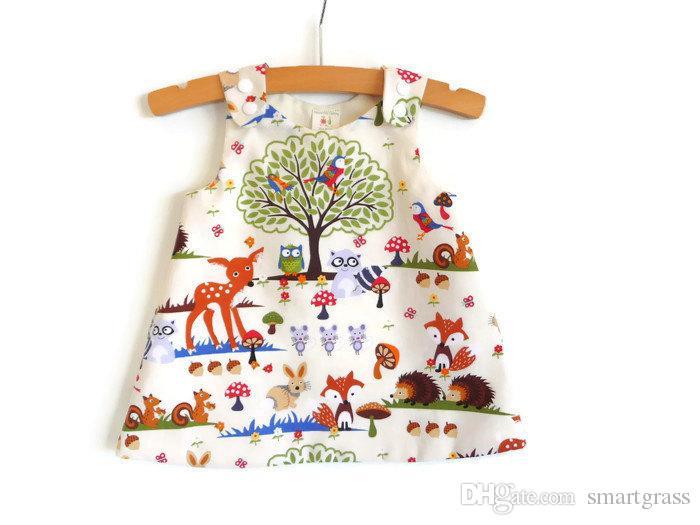 Verano 2020 vestido sin mangas del bebé fijada bebés Conjuntos Conjuntos Pantalones cortos PP diadema a juego con 3 pedazos del bebé de sistemas de la ropa 17040101