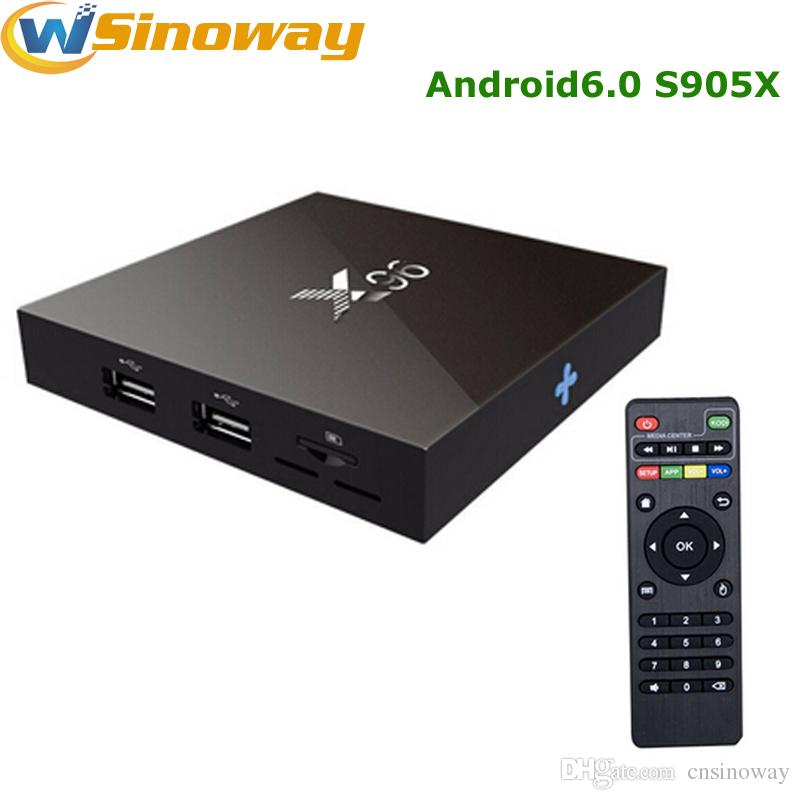 X96 Android Tv Box 2G 16G 1G8G Cheap Set Top Box Smart Amlogic S905x Remote  Control Media Player