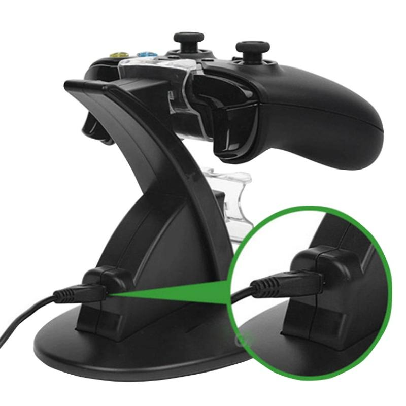Dual Controllers Charger Charging Dock Stand Station For Sony PlayStation 4 PS4 PS 4 X-box one Game Gaming Wireless Controller Console