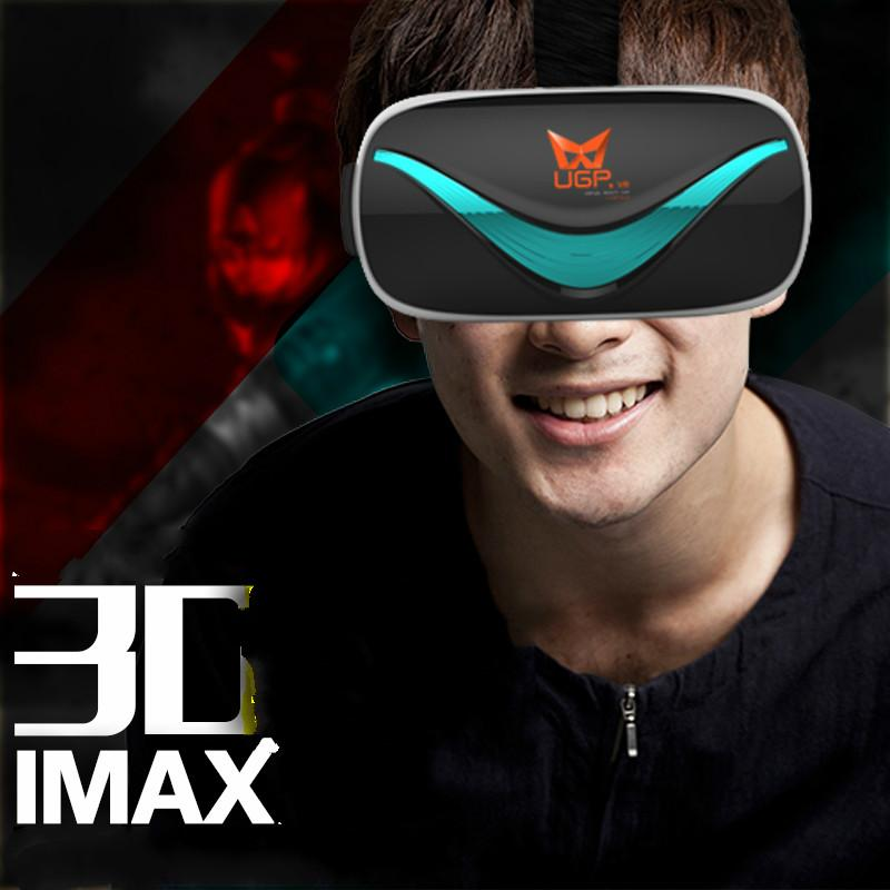 64fedf3bd0 Wholesale Cdragon Vr Virtual Reality Glasses Mirror 3D 4 Generation Mobile  Phone Headset Game Theater Resources Intelligent Helmet Old 3d Glasses Red  Blue ...
