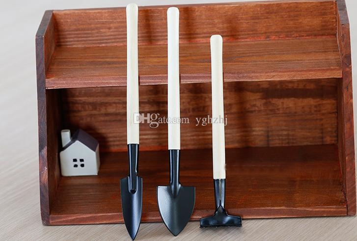 Wholesale gardening tools three-piece, mini garden tools, small spade, rake, shovel, plant potted flower tools,