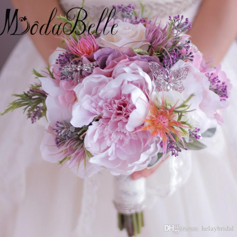 2017 artificial flowers bridal bouquet purple pink hydrangea peonies 2017 artificial flowers bridal bouquet purple pink hydrangea peonies rose butterfly brooch wedding bouquet brides holding flowers flower for wedding flowers mightylinksfo
