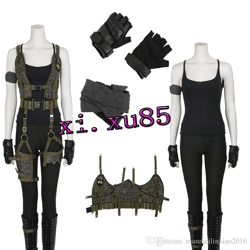 New Arrival Womenu0027S Costume Resident Evil The Final Chapter Alice Costume Halloween Costume For Women Custom Made Groups Of 3 Halloween Costumes Themed ...  sc 1 st  DHgate.com & New Arrival Womenu0027S Costume Resident Evil: The Final Chapter Alice ...