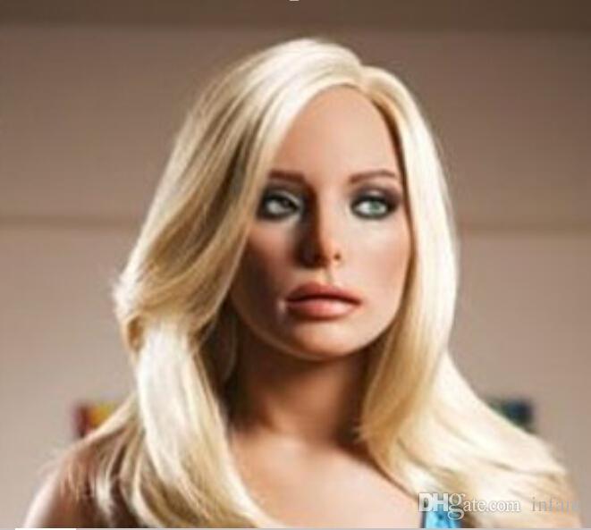 sex pop best-selling orale seks pop opblaasbare liefde poppen voor mannen, sex producten, volwassen speelgoed, blond haar, DHL gratis verzending