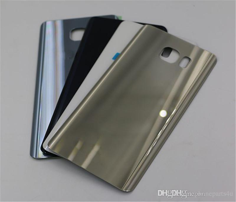 low priced 82d22 51041 Original Note5 Back Cover Glass housing Battery Cover Glass Door Case For  Samsung Galaxy Note 5 N920 N920F Back Glass Free Shipping