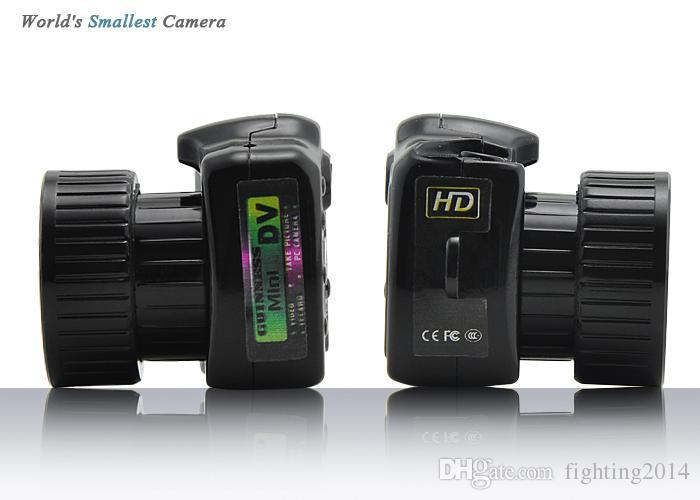 미니 카메라 Y2000 HD 포켓 미니 DV 웹캠 비디오 음성 레코더 마이크로 캠 가장 작은 Camara 디지털 미니 캠코더