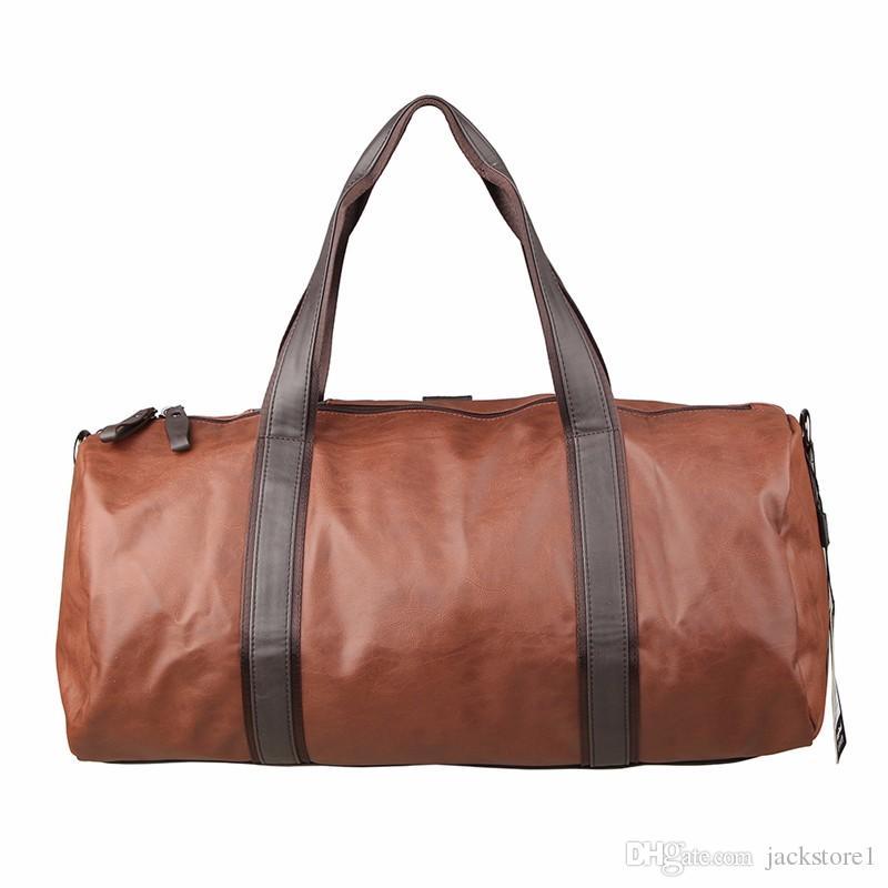 d8a418c8d732 2017 NEW Men Leather Travel Duffle Bag Sac De Voyage Cossbody Men Bag Small  Business Handbags Bolsa De Couro Masculina Leather Bags Laptop Bags For  Women ...