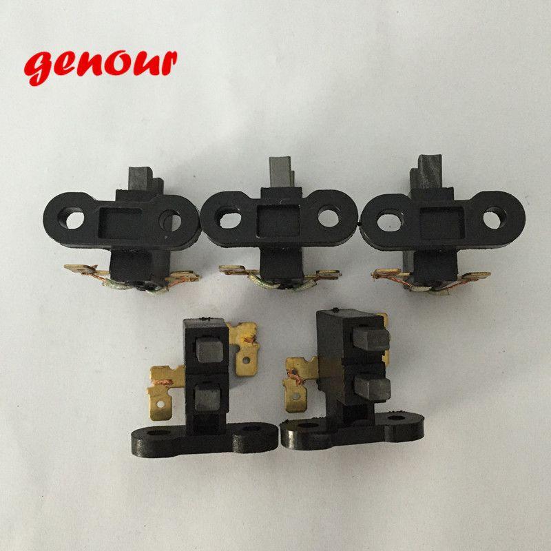 5 adet Karbon fırça tutucu 2KW 2.5KW 3KW için Çin Benzinli Jeneratör Aksesuar, 168F GX160 jeneratör yedek parçaları
