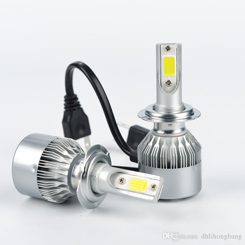 Online Cheap 12 24v H7 Led Auto Headlights Bulb Automobile Headlamp ...