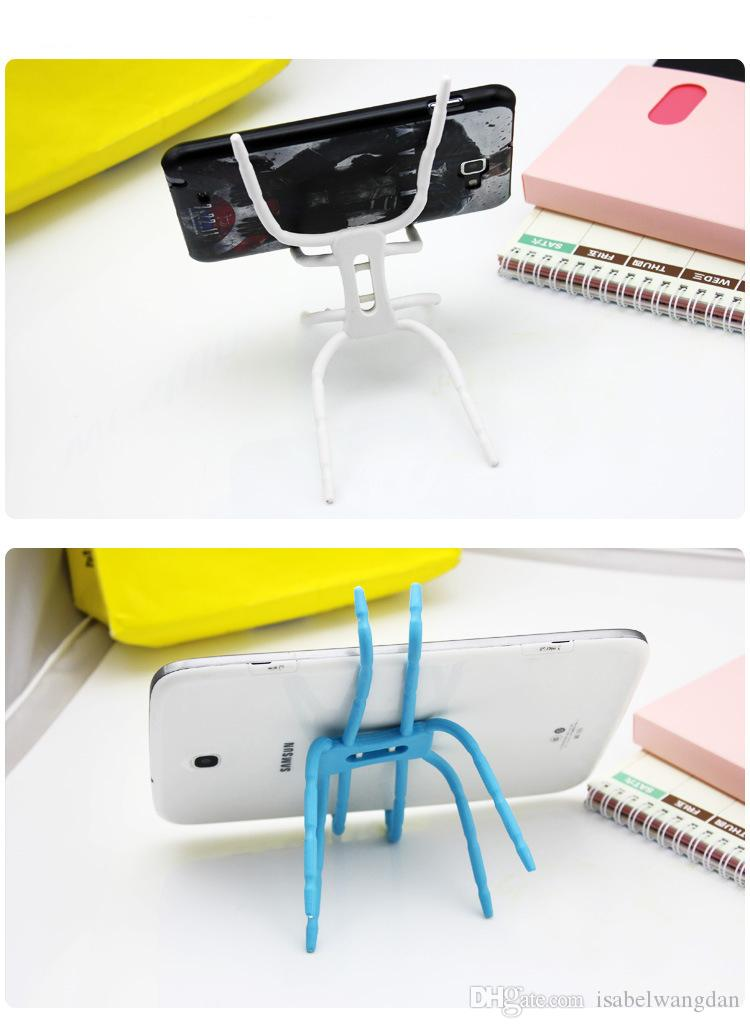 Universal Spider Mobile Phone Holder For iPhone 7 6 6S Plus 8 Stent For Samsung S6 s7 s8 Plus Car Holder Stand Support Phone Holder
