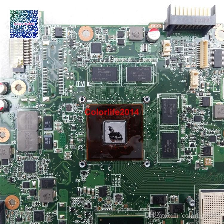 60-N1QM1300-C11 69N0K3M13C11 REV 2.1 For Asus N53SV Motherboard with Discrete Graphics Card N12P-GS-A1 Mainboard Fully Tested