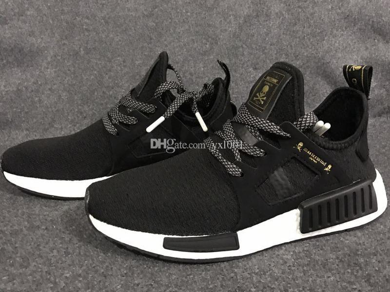 adidas nmd r1 core black solid grey white red ultra boost xr1 NDUCFA