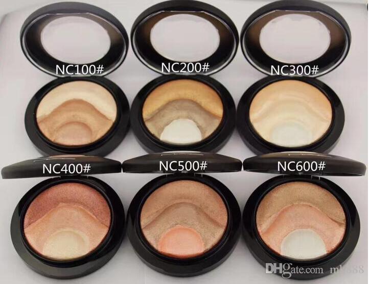 O ENVIO GRATUITO de boa qualidade Menor Melhor Venda de boa venda Mais Novo Mineralize Skinfinish Face Em Pó sombra 10g + presente