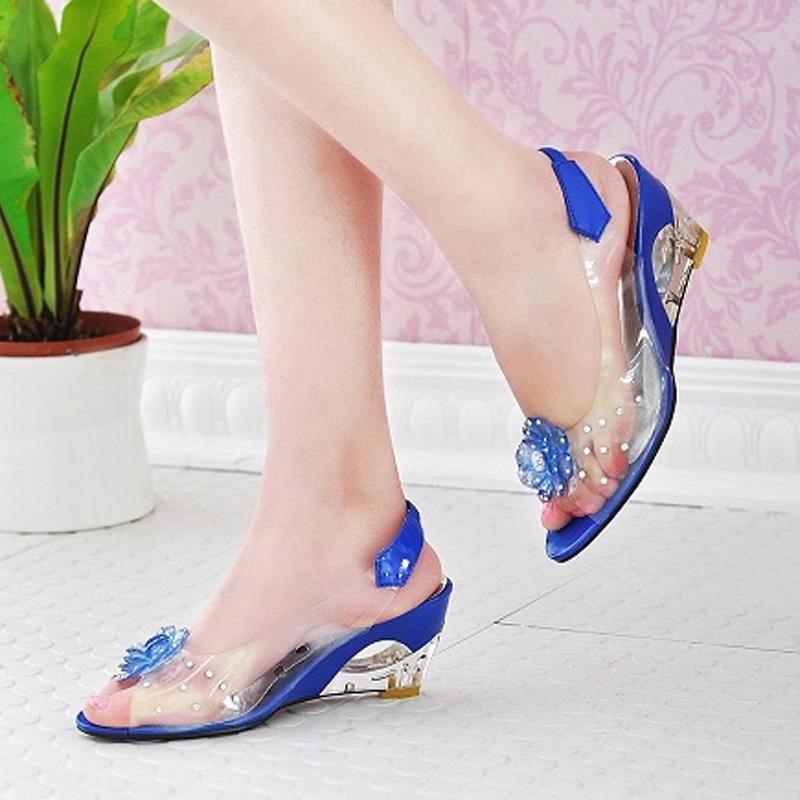 ebe07a7f955 Wholesale Top Fashion Women Wedge Heels Sandals Dress Casual Shoes Ladies  Sandals High Heels Cheap Shoes Wedge Sneakers From Brew, $17.08| DHgate.Com