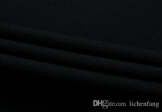 2017 летняя мода мужская футболка повседневная лоскутное с коротким рукавом футболки Мужская одежда тенденция повседневная Slim Fit хип-хоп топ тройники 5XL
