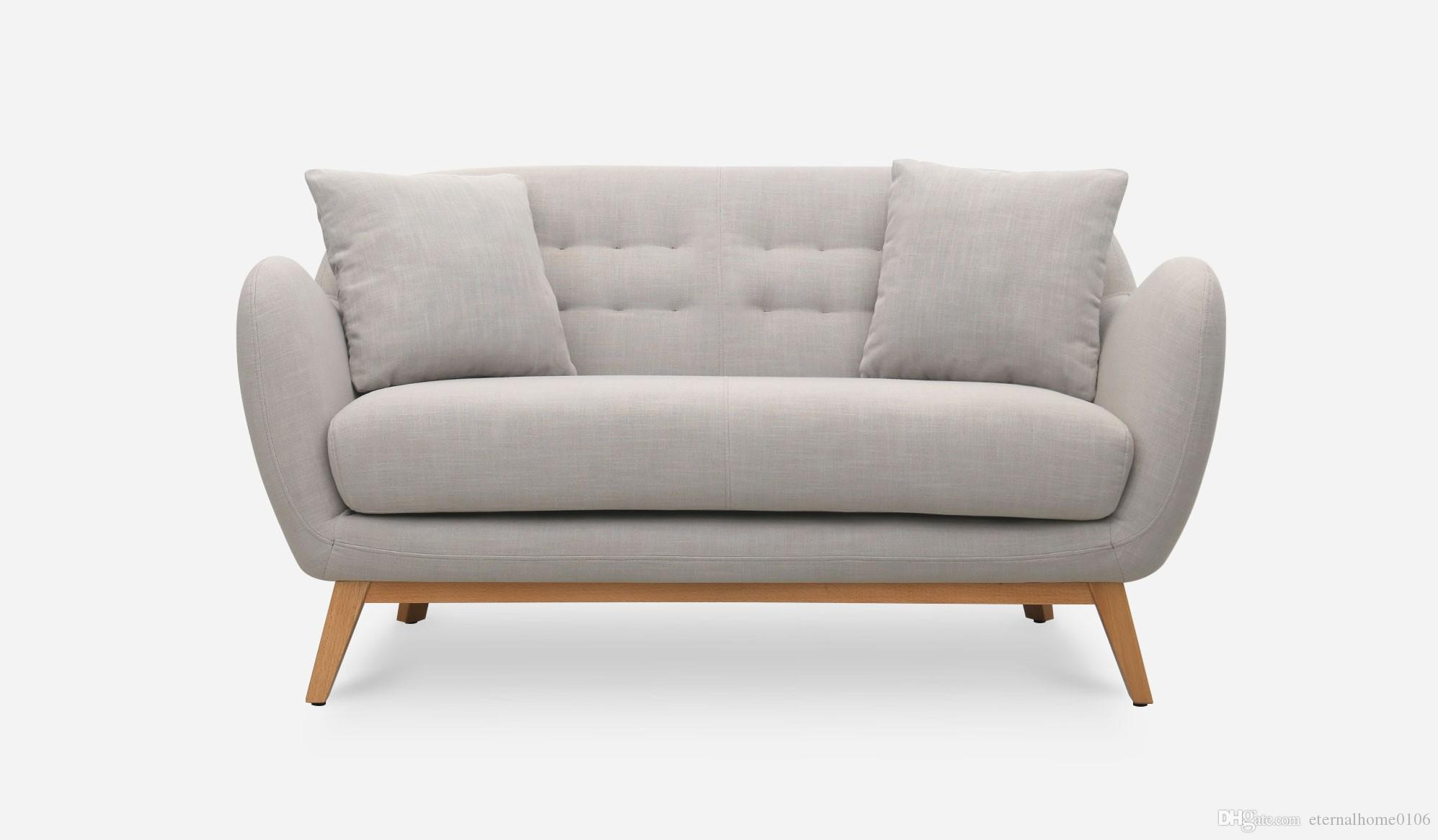2018 Mid Century Modern Loveseats Furniture Ottoman Living Room Bedroom Sofa  Armchair Fabric Velvet 031 From Eternalhome0106, $903.52 | Dhgate.Com