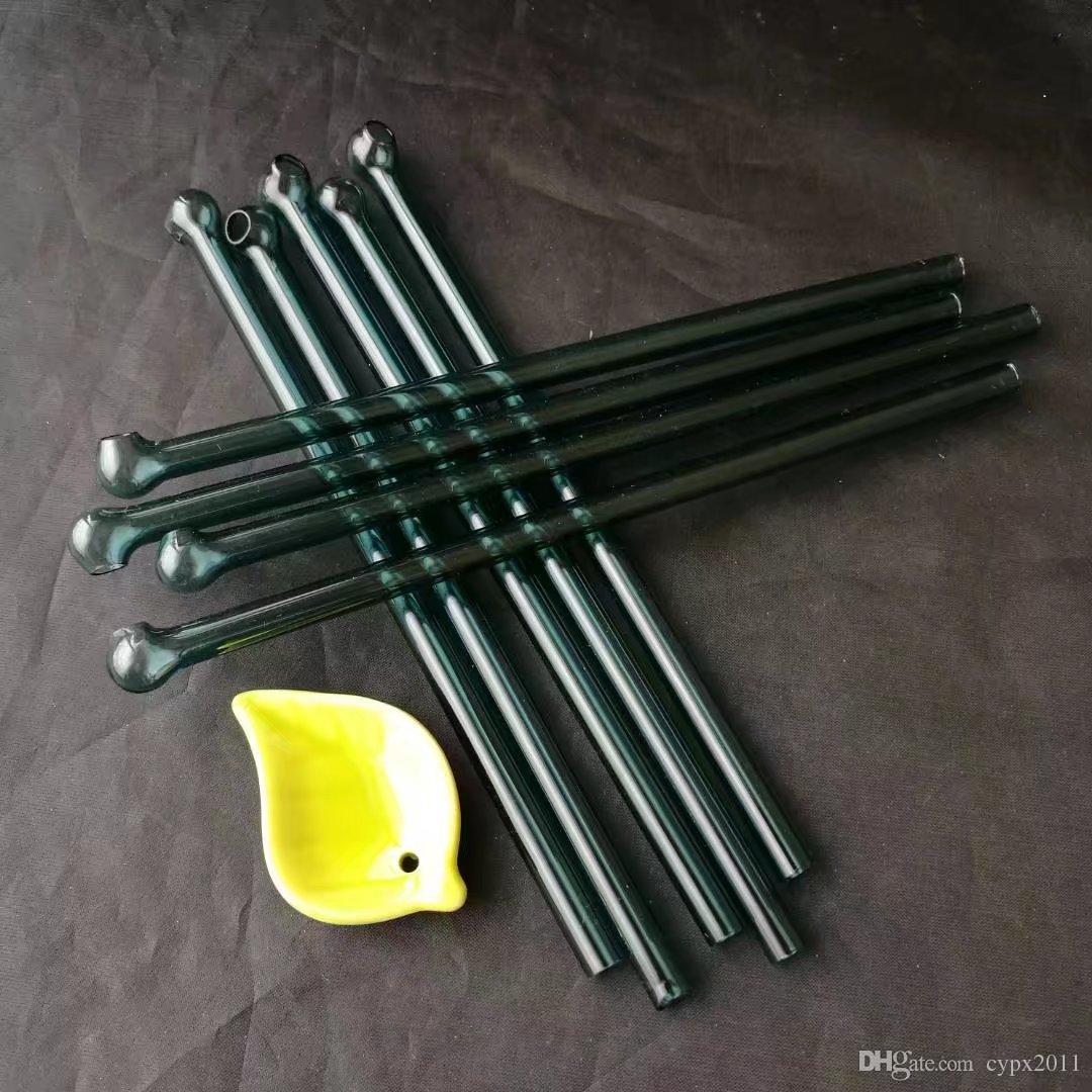 Sigara boru için pyrex yağ brülör boru 20 cm yağ tüp mini cam su fit rigs kalın cam tırnak yağ brülörleri