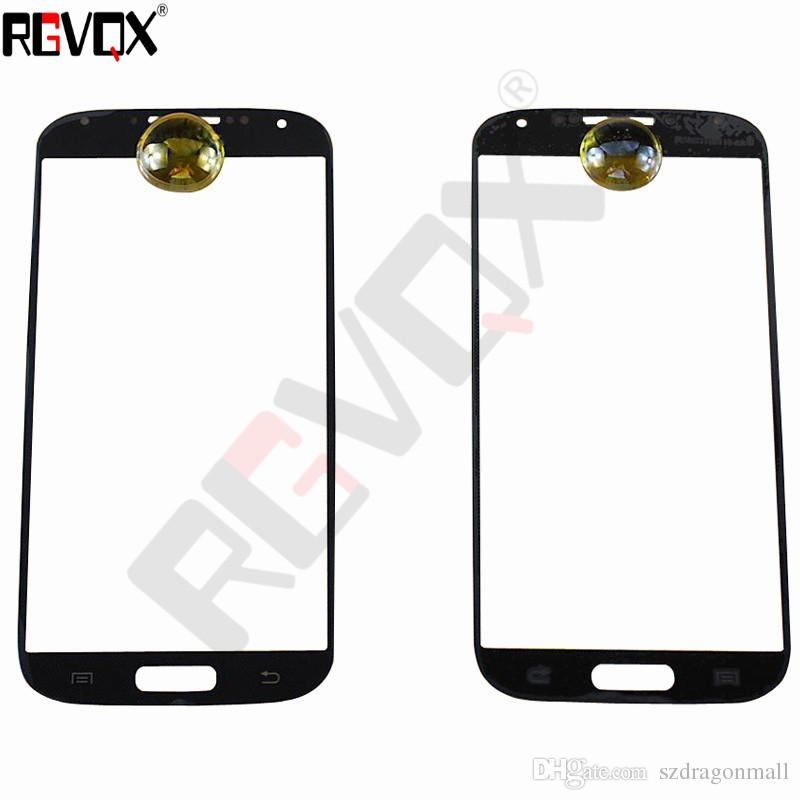 New Touch Glass For Samsung Galaxy S4 I9500 i9505 i337 For Front Screen Glass Lens Black/White With Replacement Repair