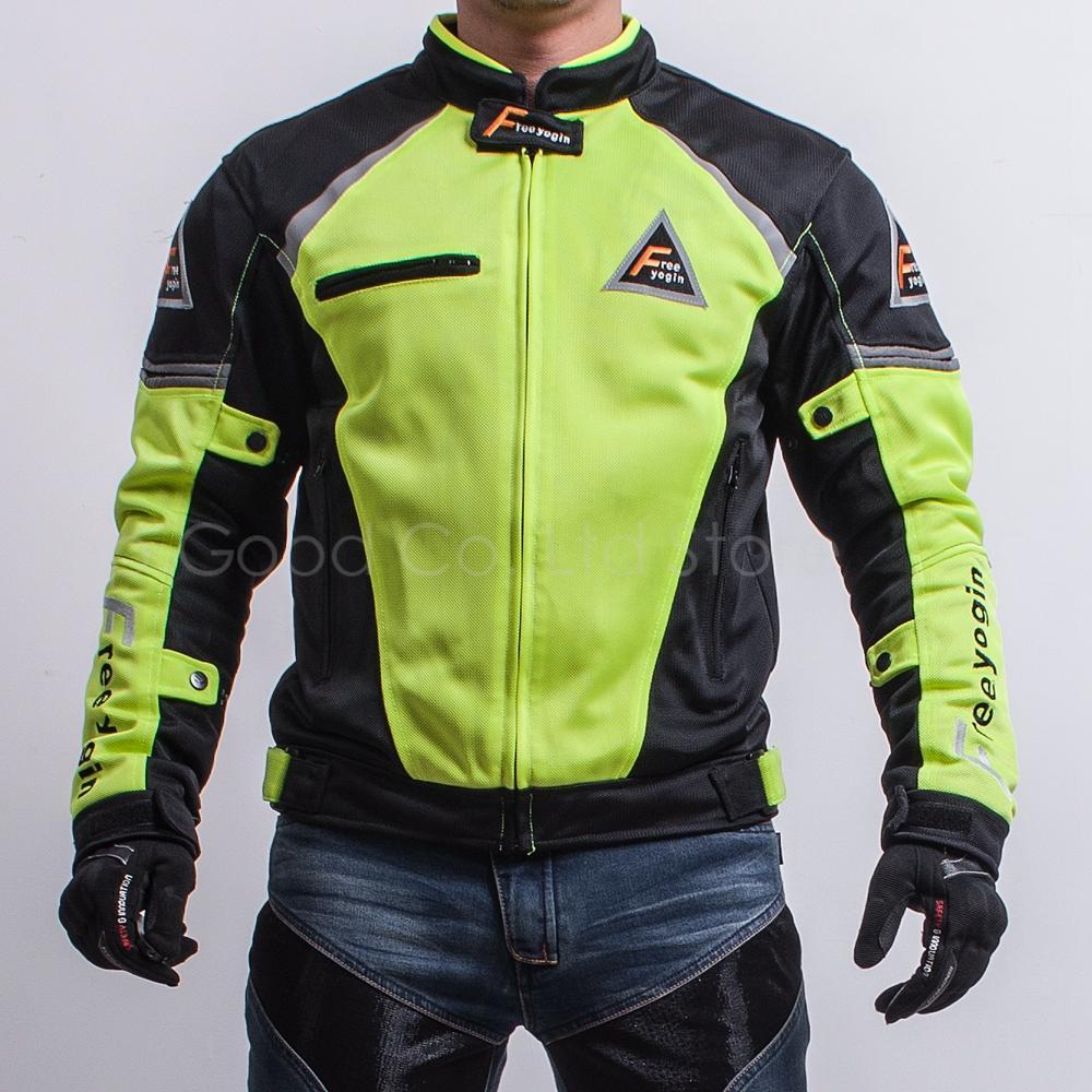 2019 Motorcycle Jacket Racing Riding Coat Summer Wear Breathable