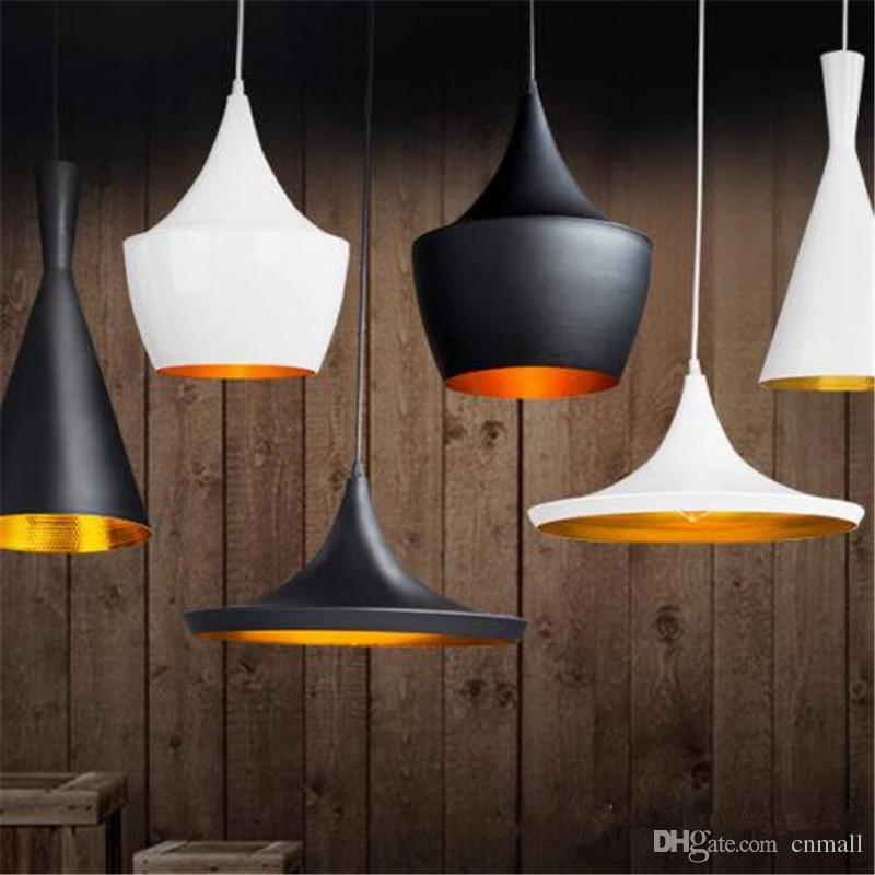 Tom Dixon Tall Fat Wide Pendant Lamp Creative Diy Aluminum