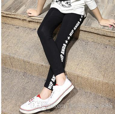 df9708f88c 2017 Spring Style Girls Baby Thicken Cute Letter Printed Leggings Children  Pants Toddler Kids Lovely Trousers Girls Pencil Pants UK 2019 From  Goodhappy888, ...