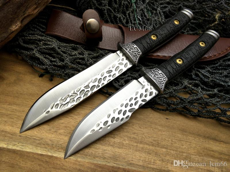 LCM66 forging craft knives Fixed Blade Camping Hunting Knives G10 Survival Knife EDC Tools Collection of gifts Browning tool